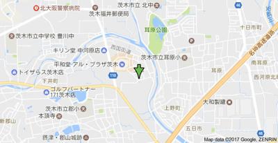 【地図】田中ハイツ
