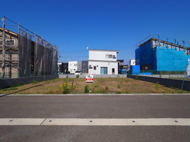 【外観】大仙市幸町 花館小学校区の66.15坪 分譲地内の整形地です