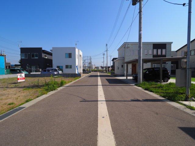 大仙市幸町 花館小学校区の66.15坪 分譲地内の整形地です