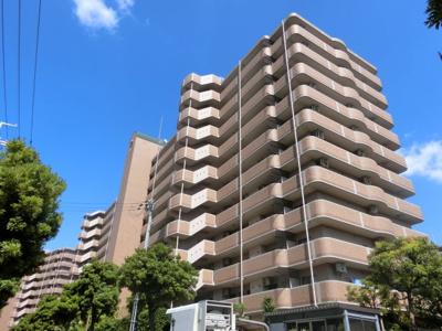 【現地写真】 鉄筋コンクリート造の11階建♪ 陽当たりに良いマンションとなっております♪