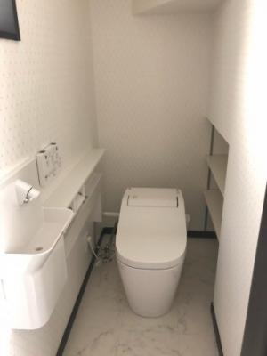 【トイレ】門真市御堂町 新築戸建