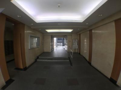 【エントランス】サンハイツ八尾南2号棟