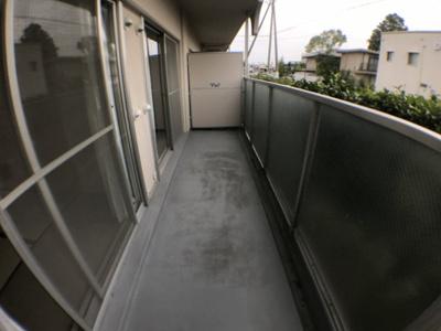 【バルコニー】サンハイツ八尾南2号棟