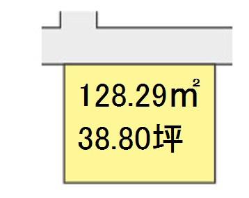 【区画図】【売地】西浜中学校区・56424