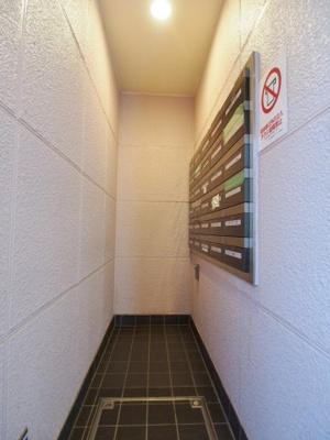 総戸数25戸の集合ポストです。