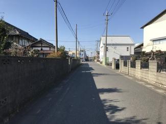 【前面道路含む現地写真】鴻巣市広田の売地【No.10272】
