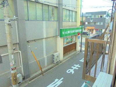 洋室7帖からの眺望