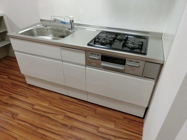 グラード柏原(旧:メゾン・ドュ・ポルテマイヨ) システムキッチン