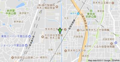【地図】辻子マンション