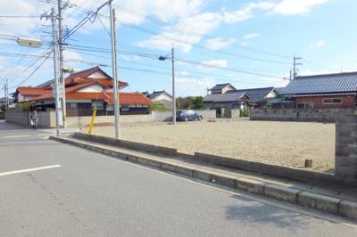 【前面道路含む現地写真】境港市新屋町売土地