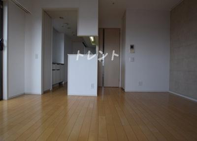 【居間・リビング】パークハウス本郷三丁目アーバンス