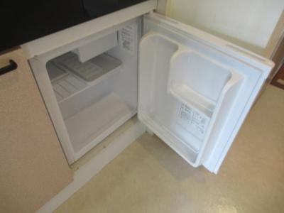 ミニ冷蔵庫付きです