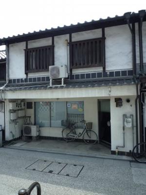 【外観】本町 美観地区内の住居付き店舗事務所