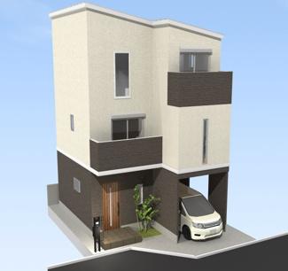 堺市西区鳳東町の新築一戸建て