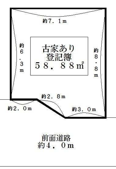 【土地図】堺市西区鳳東町 売り土地