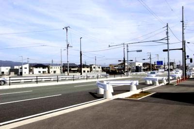 【前面道路含む現地写真】【売地】日進中学校区・56393