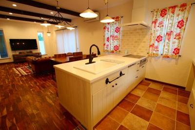 【キッチン】八女市本町 戸建