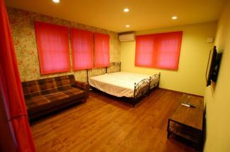 【寝室】八女市本町 戸建