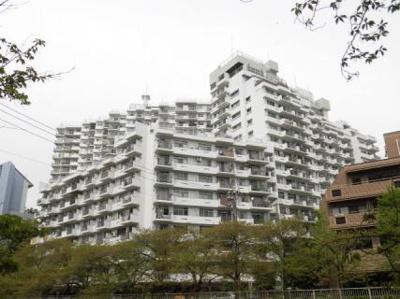 395戸の大きなマンションです。