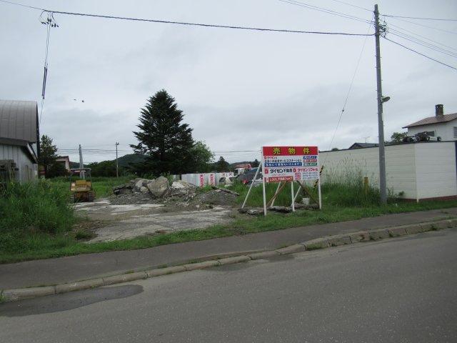 【前面道路含む現地写真】北見市東相内町728番5 売土地