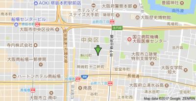 【地図】レジデンス山地