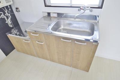 【キッチン】メビウス道明寺レジデンス東館