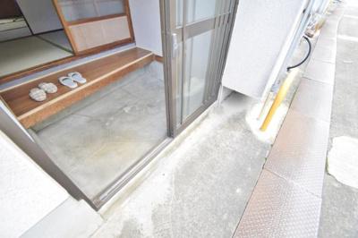 【玄関】伊賀2丁目平屋