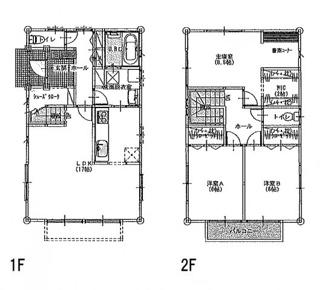 建物プラン例 建物価格1483万円、建物面積99.35㎡