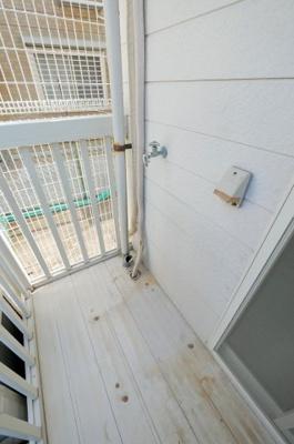 コーポやよい110号室 洗濯機置場