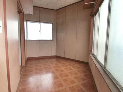 【外観】南区柳瀬店舗付住居