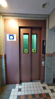プレール綱島:エレベーター