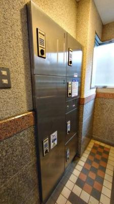 プレール綱島:宅配ボックスがあるので、不在時の荷物の受け取りもOK