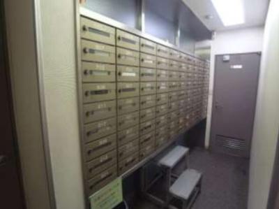 藤和ハイタウン上野 集合ポスト、宅配ボックスも設置されました