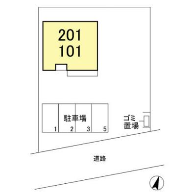【区画図】メゾン・ド・TJ1