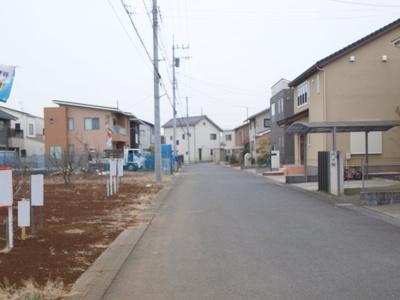 【前面道路含む現地写真】富士見ヶ丘4丁目11番