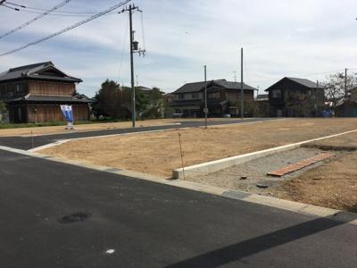 【前面道路含む現地写真】天神町開発4号地