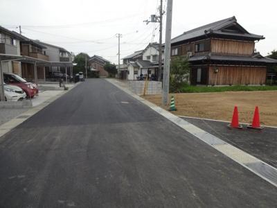 【前面道路含む現地写真】天神町開発5号地
