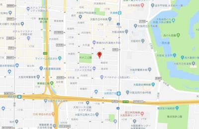 【地図】グランパシフィック北新町