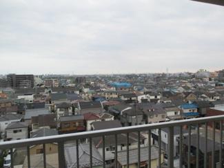 8階部分の為、眺望が良いです。 モアステージ吉川ライネスハイムC棟