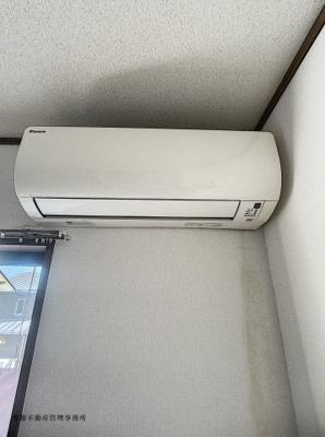 冷暖房が可能なエアコンです。