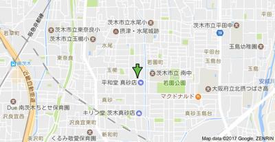 【地図】サンハイム玉櫛