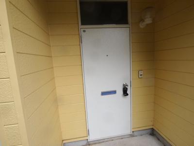 101号室玄関