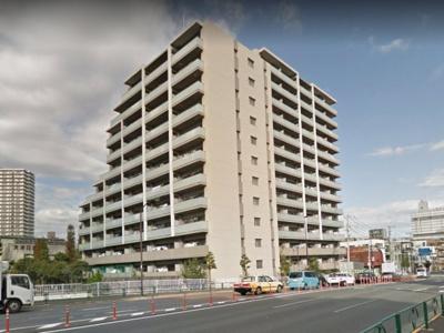 【外観】クレヴィア南砂 平成26年9月築 角 部屋 5階部分
