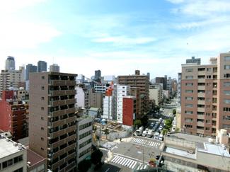 10階高層階のため眺望も素晴らしいです♪