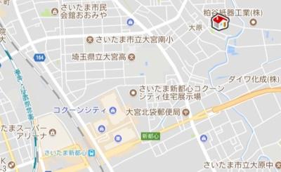 【地図】レオパレスKOIKE Ⅱ(45731-201)