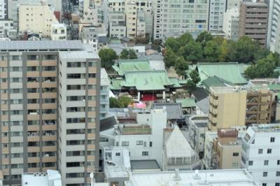 LDKからはからは大阪天満宮がご覧いただけます♪