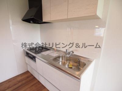 【キッチン】リバーサイド天川・B棟