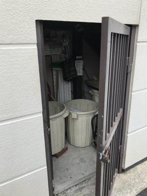 嬉しい敷地内ゴミ置き場。