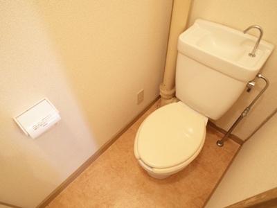 【トイレ】平和台ハイツ