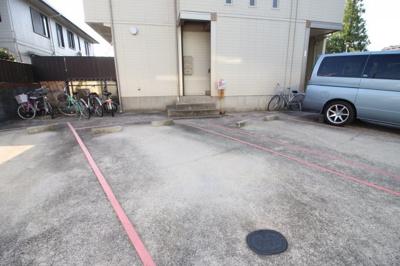 駐車場完備です 空き確認必要です